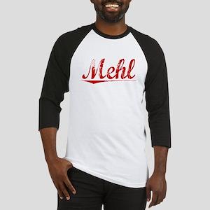 Mehl, Vintage Red Baseball Jersey