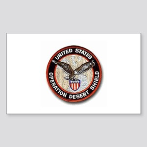 Operation Desert Shield.. Oval Sticker (10 pk) Sti