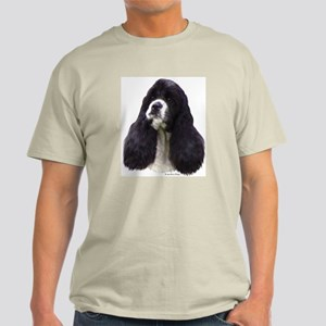 Parti Cocker Headstudy Ash Grey T-Shirt