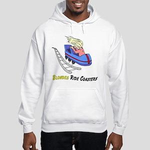 Blondes Ride Coasters Hooded Sweatshirt