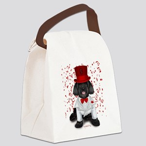 Havanese Cuba Bond Canvas Lunch Bag