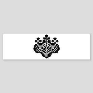 5-3-paulownia Sticker (Bumper)