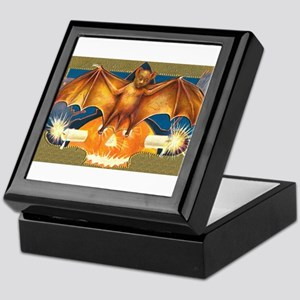 Halloween Bat Keepsake Box