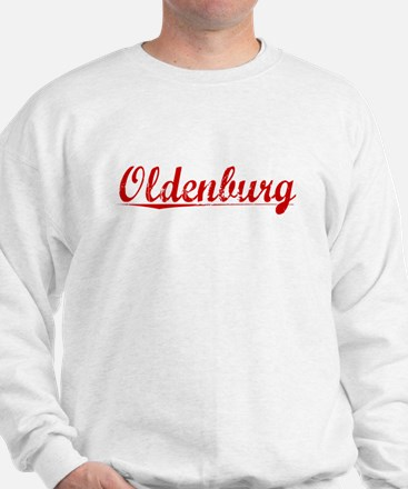 Oldenburg, Vintage Red Sweatshirt