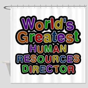 World's Greatest HUMAN RESOURCES DIRECTOR Shower C