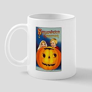 Victorian Halloween Children Mug