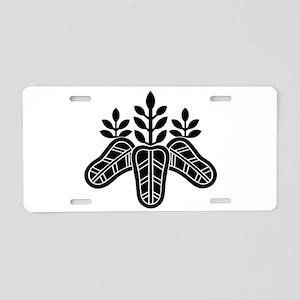 regent paulownia Aluminum License Plate