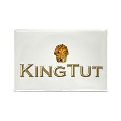 King Tut Rectangle Magnet