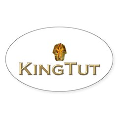 King Tut Oval Decal