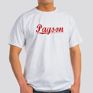 Payson, Vintage Red Light T-Shirt
