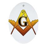 Freemason Ornament (Oval)