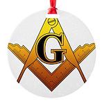 Freemason Round Ornament