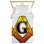 Freemason Twin Duvet