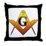 Freemason Throw Pillow