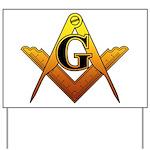 Freemason Yard Sign