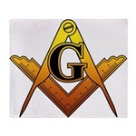 Freemason Throw Blanket