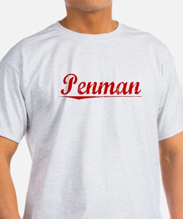 Penman, Vintage Red T-Shirt