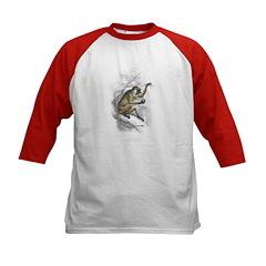 Proboscis Monkey (Front) Kids Baseball Jersey