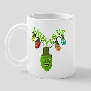 Funny Lighten Up Christmas Mug