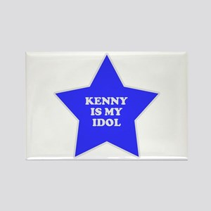 Kenny Is My Idol Rectangle Magnet