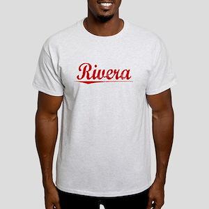 Rivera, Vintage Red Light T-Shirt