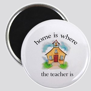 Home is where the teacher is Magnet