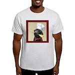 Black Labrador Chef Ash Grey T-Shirt