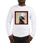 Black Labrador Chef Long Sleeve T-Shirt