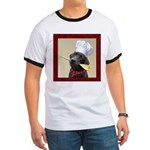 Black Labrador Chef Ringer T