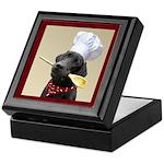 Black Labrador Chef Keepsake Box
