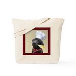 Black Labrador Chef Tote Bag