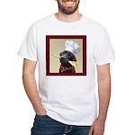 Black Labrador Chef White T-Shirt