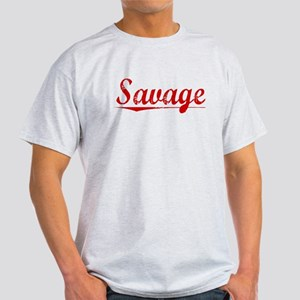 Savage, Vintage Red Light T-Shirt