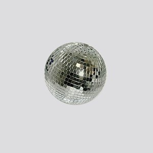 Spazzoid Disco Ball Mini Button