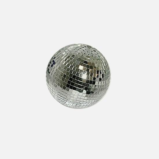 Spazzoid Disco Ball Mini Button