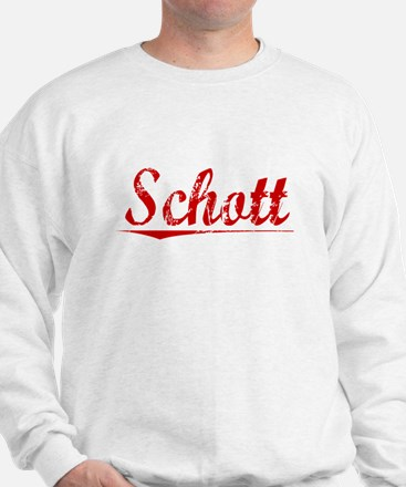 Schott, Vintage Red Jumper