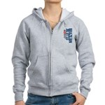 Pass out before you die BJJ Women's Zip Hoodie