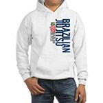 Pass out before you die BJJ Hooded Sweatshirt