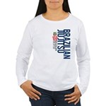 Pass out before you die BJJ Women's Long Sleeve T-