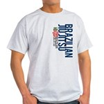 Pass out before you die BJJ Light T-Shirt