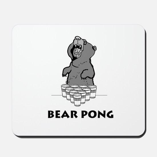 Bear Pong Mousepad
