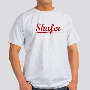 Shafer, Vintage Red Light T-Shirt