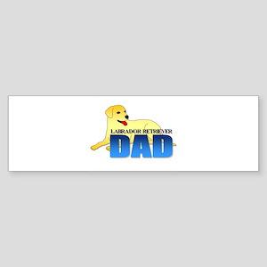 Labrador Retriever Dad Sticker (Bumper)