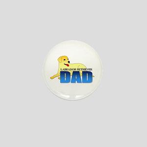 Labrador Retriever Dad Mini Button