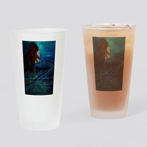 You are Mer-stonishing, Mermaid Qua Drinking Glass