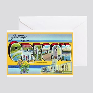 Oregon Greetings Greeting Card