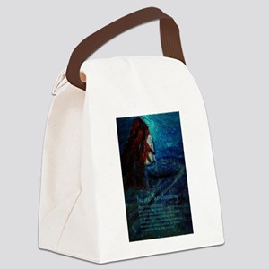 You are Mer-stonishing, Mermaid Q Canvas Lunch Bag