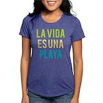 Life's a Beach Womens Tri-blend T-Shirt