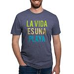 Life's a Beach Mens Tri-blend T-Shirt