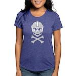 Lil' Spike Skully Womens Tri-blend T-Shirt